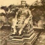 The Royal Portraits of His Majesty Preah Bat Samdech Preah Sisowath Monivong Chamchakrapong