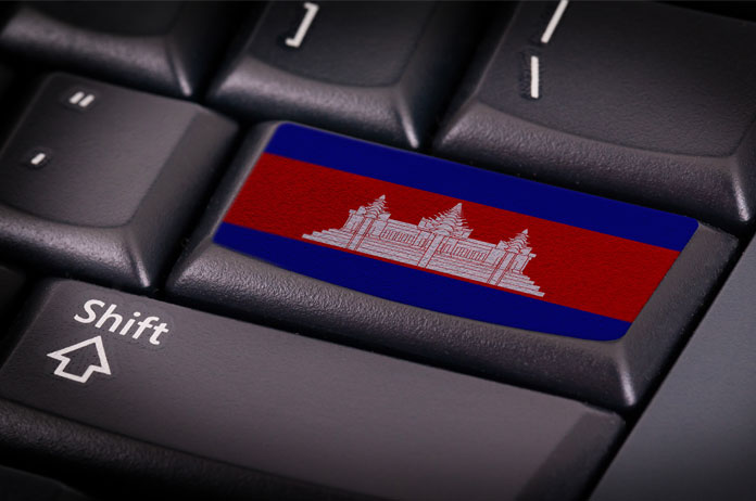 """State of E-Commerce in Cambodia"""" Commentary by Mr. Ouch Richard , Research Fellow at the Centre for Inclusive Digital Ec"""